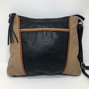 Marc Fisher Faux Pebbled Leather Crossbody Bag